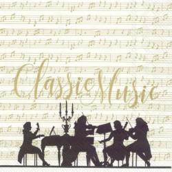 Servetele Classic Music Gold L779469