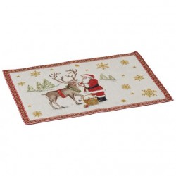 Placemat individual Christmas toys 2018  Reindeer32x48cm