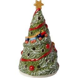 Decoratiune luminoasa Christmas light lantern fir tree