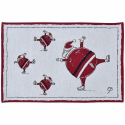 Placemat 32x48 Santa