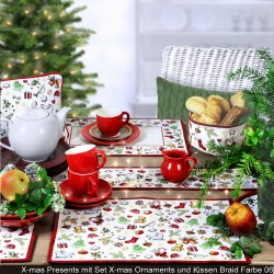 Placemat 32x48 cm- X-mas Presents