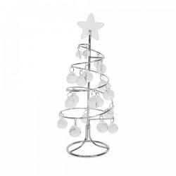 Decoratiune craciun tree w glass 33138