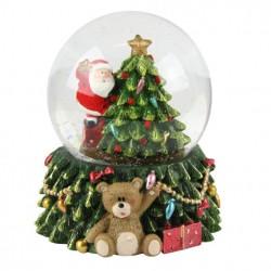 Decoratiune Santa led dome 32729