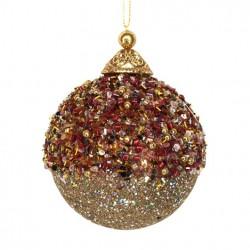 Glob brad red/gold/copper 13332
