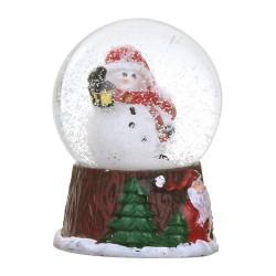Santa mini dome 31696