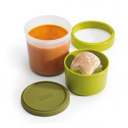 Caserola pentru supa, GoEat, 300+600 ml, Verde-J81027
