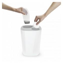 Cos de gunoi compartimentat din plastic-J70514