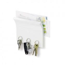 Suport magnetic pentru chei magnetter alb