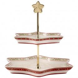 Etajera pentru prajituri winter bakery delight Holly-289154