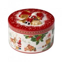 Cutie decorativa pentru prajiturele Christmas Toys Gift Box Reindeer