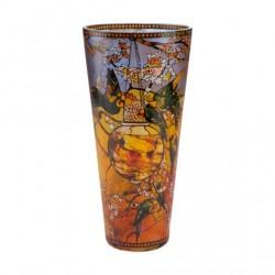 Vaza Parakeets, 30 cm, Artis Orbis Louis Comfort Tiffany