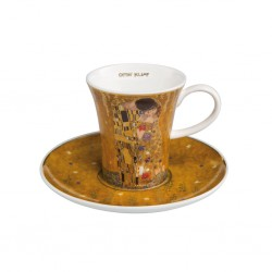 Ceasca espresso cu farfurie Goebel The kiss, 0.10 l