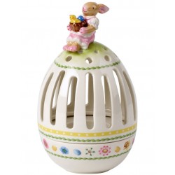 Decoratiune suport lumanare de Paste  Bunny tales tea light holder egg-Villeroy&Boch