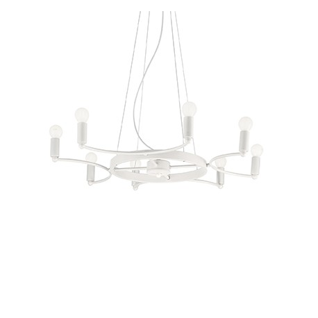 Lustra Space SP8 bianco, Ideal Lux