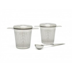 Set 2 infuzoare ceai si lingura Bredemeijer-191003