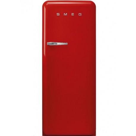Combina frigorifica, Smeg, rosu, FAB28RRD3
