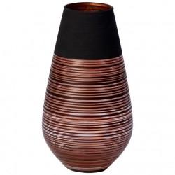 Vaza din sticla 19 cm, Manufacture Swirl