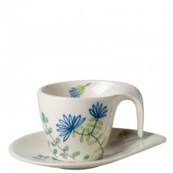 Ceasca espresso cu farfuriuta Flow Couture-358034-358041