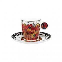 Cana cu farfuriuta espresso Billi the artist -Goebel-315732
