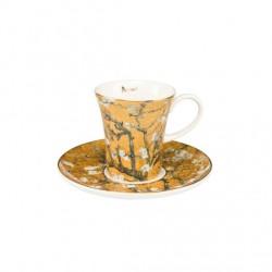 Ceasca cu farfuriuta espresso-ARTIS VINCENT VAN GOGH-Goebel-Tree Gold-316067
