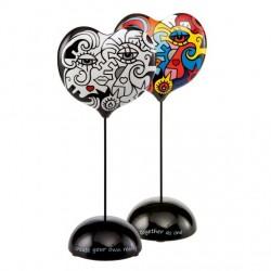 Figurina inima cu 2 fete-ARTIST BILLY ARTIST-Goebel-305191
