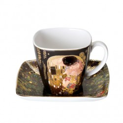Ceasca cu farfuriuta espresso-ARTIS  GUSTAV KLIMT-Goebel-243899