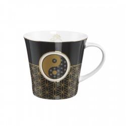 Cana cafea/ceai Goebel,yin yang 0.35l-332500