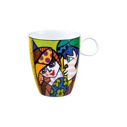 Cana din portelan, Delicious, 0,4 l, Multicolor