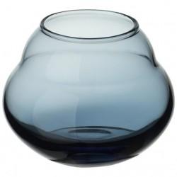 Vaza bleue mica,,joliie bleue 4.5 in- 331341