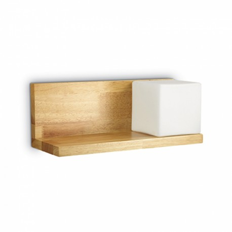 Aplica cu polita din lemn, Toledo-2AP1 Ideal Lux, cod 180106