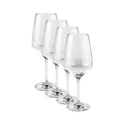 Set 4 pahare pentru vin rosu, Vivo, 497 ml, Transparente-263314