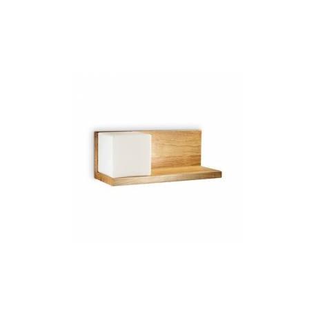 Aplica cu polita din lemn Toledo 1 AP1, Ideal Lux, cod 180090