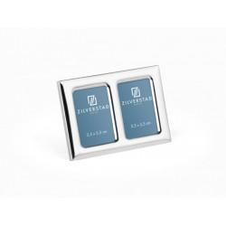 Rama foto Maine 3.5x5.5 cm (2x), placat cu argint lacuit- 8081231