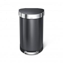 Cos de gunoi cu pedala semirotund, 45 l- CW2075
