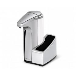 Dozator pentru sapun lichid cu senzor,384 ml, si suport pentru burete-ST1031