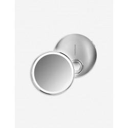 Oglinda rotunda compact cu senzor si lumina,10 cm-ST3025