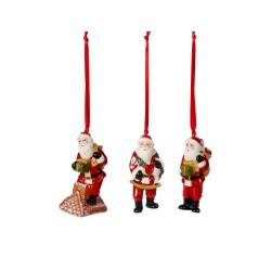 Set 3 decoratiuni Nostalgic Ornaments Santa Claus-361140