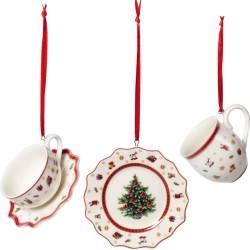 Set 3 decoratiuni Toy's Delight Decoration Ornaments Tablewareset -361201