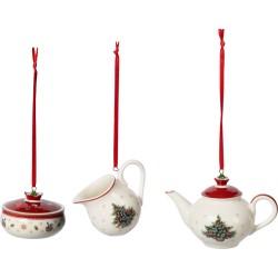 Set 3 decoratiuni Toy's Delight Decoration Ornaments Coffee-361195