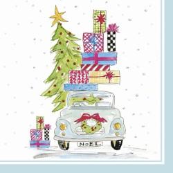 Servetele Noel car L801000
