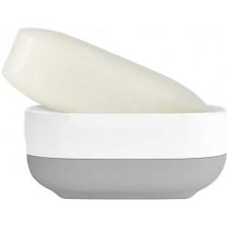 Suport sapun slim compact gri/alb-J70511