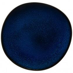Farfurie albastra pentru mic dejun 23 cm Lave Blue-373488