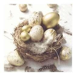 SERVETELE Funny golden eggs- L851500 - IHR