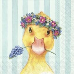 """Servetele Easter friends """" Chick"""" Blue l866649 IHR"""