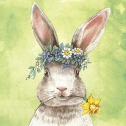 Servetele Easter friends bunny green L866520-IHR