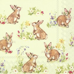 Servetele Sweet lovely bunnies IHR-L851129