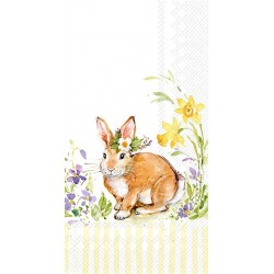Servetele Lovely bunny yellow IHR BF844270