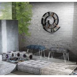 Raft perete Chiocciola Dark Grey - Tomasucci 3028