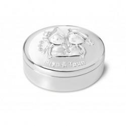 Cutiuta argintata Fien&Teun, tooth/hair curl -352625