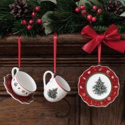 Set 3 decoratiuni din portelan Toy's Delight Villeroy&Boch - 392830
